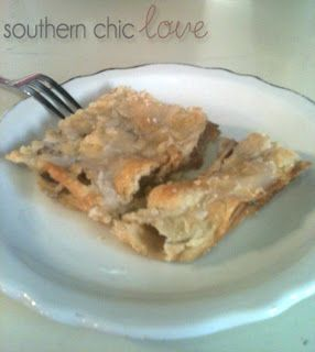 Southern Chic Love: in the kitchen: slab pie
