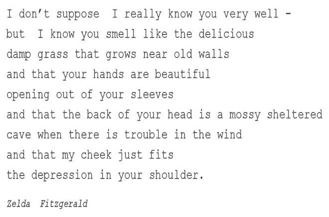 A Lovely Piece Of Zelda's Poetic Streamofconscious Writing Style Interesting Zelda Fitzgerald Quotes