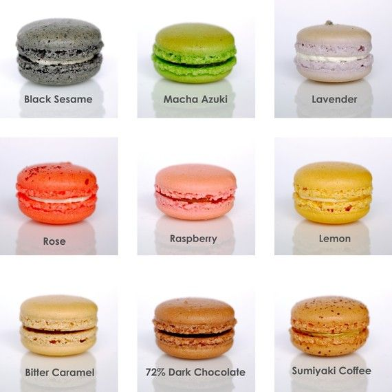 48 Assorted Regular French Macarons - Perfect for tea time ...