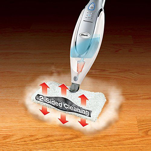 Shark Professional Steam Pocket Mop – With Shark Intelligent Steam Control – Plus Bonus of 5 Replacement Pads