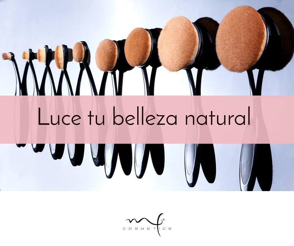 Perfectas para aplicar y difuminar productos en líquido o crema. #Marifer #brochas #Blend