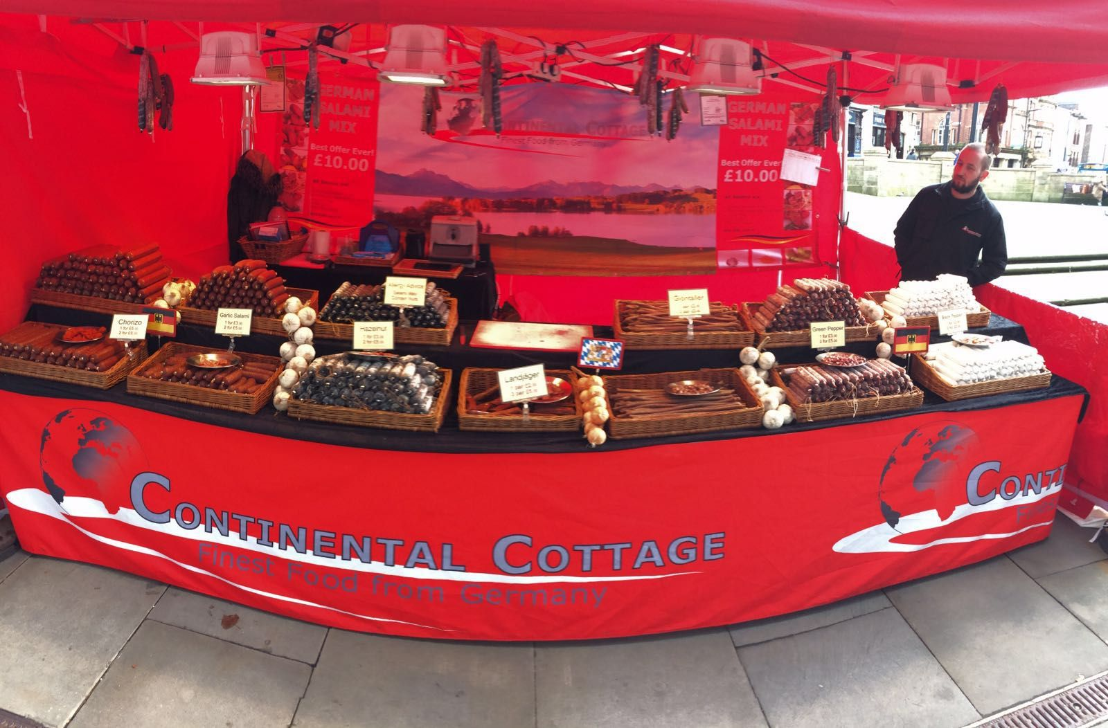 Continental Cottage At The Wigan Food And Drink Festival 1st 5th March 2016 Food Festival Wigan Cottage