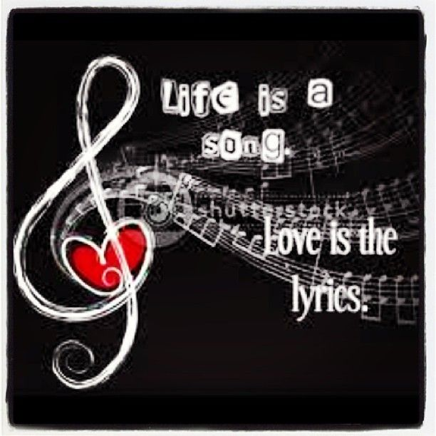 Life is a song lyrics