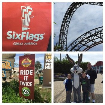Six Flags Great America Did You Know These Interesting Facts Great America Fun Facts Six Flags