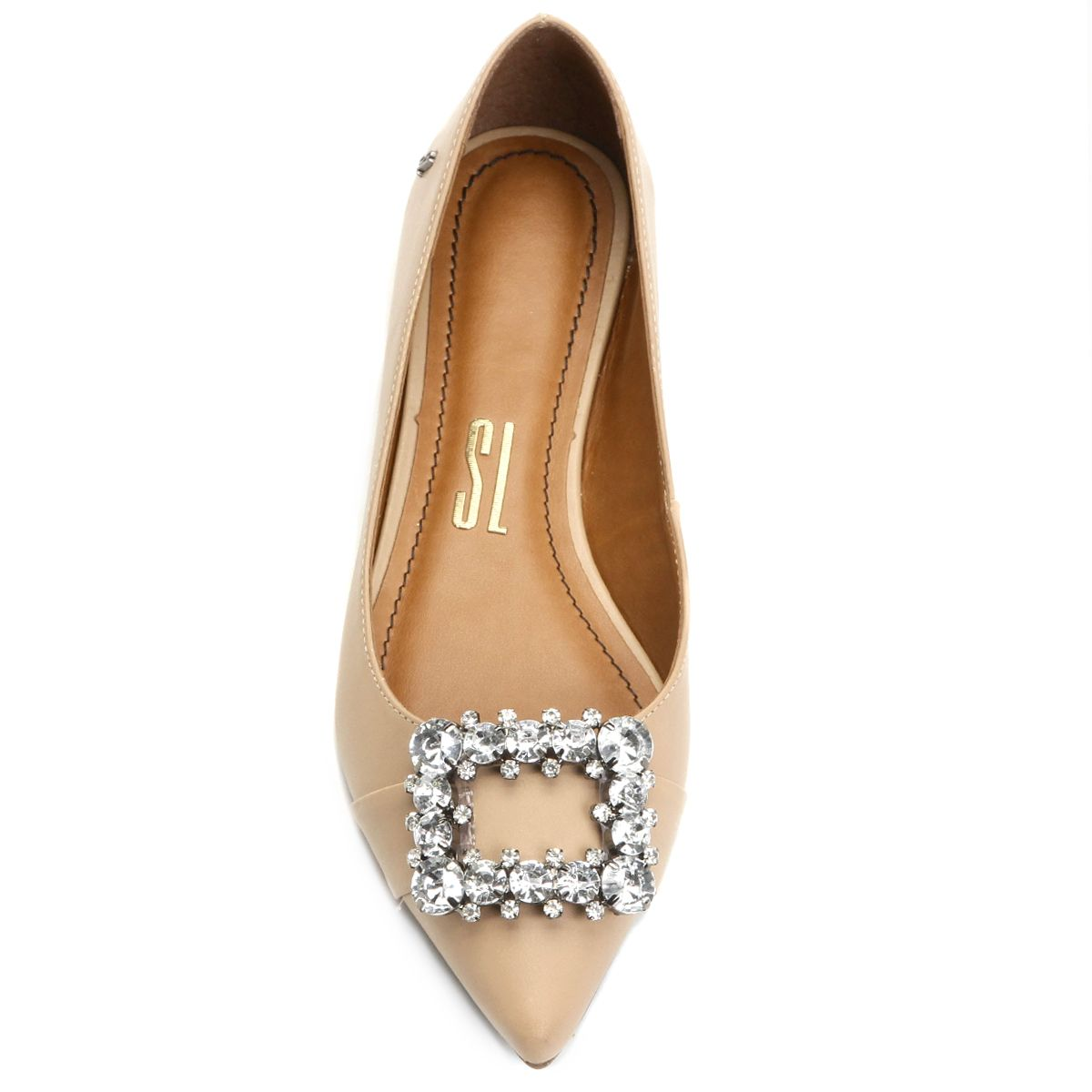 bbb663cfef7 Compre Sapatilha Santa Lolla Fivela Pedraria Bege na Zattini a nova loja de  moda online da Netshoes. Encontre Sapatos