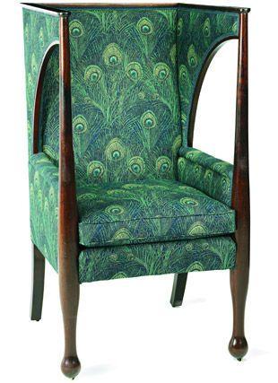 Kreslo S Kapyushonom Kreslo Shvejcara Ili Porters Chair Art Nouveau Furniture Deco Furniture Art Deco Furniture