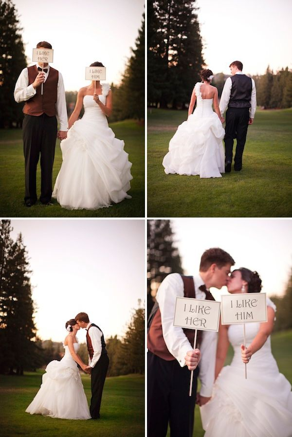 -portraits-with-signs-AE-Pictures-Inc-Chic-Wedding-Inspiration-Knotty-Bride