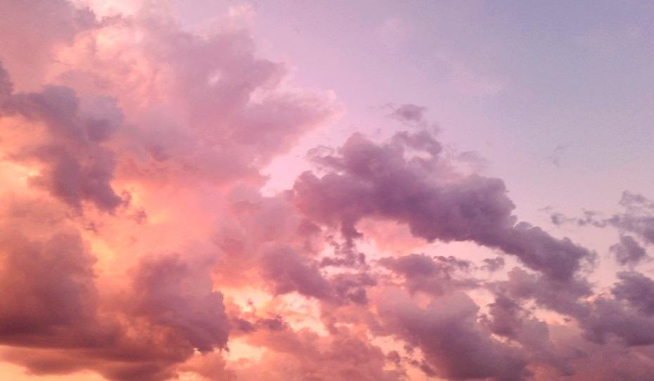 Aesthetic Clouds Desktop Wallpaper