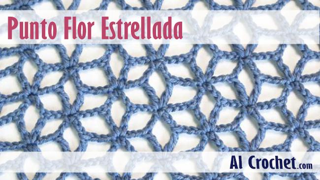 Punto Flor Estrellada, excelente para hacer modelos de ropa tejida ...