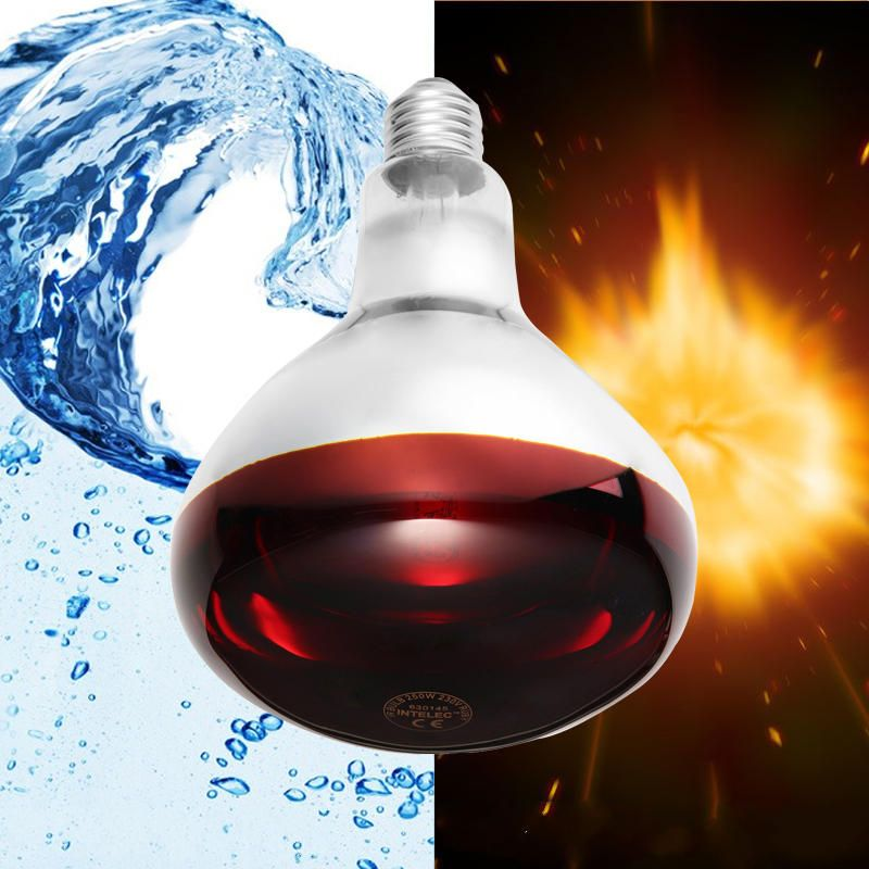 Us 8 68 E27 100w 150w 175w 250w Smart Infrared Led Light Pets Bulb Poultry Heat Lamp Ac110 240v Led Light Bulbs From Lights Lighting On Banggood Com 150w Bulb Led Lights