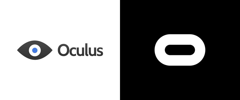 New Oculus Rift Games Announced Logo Design Love Logo Redesign Oculus