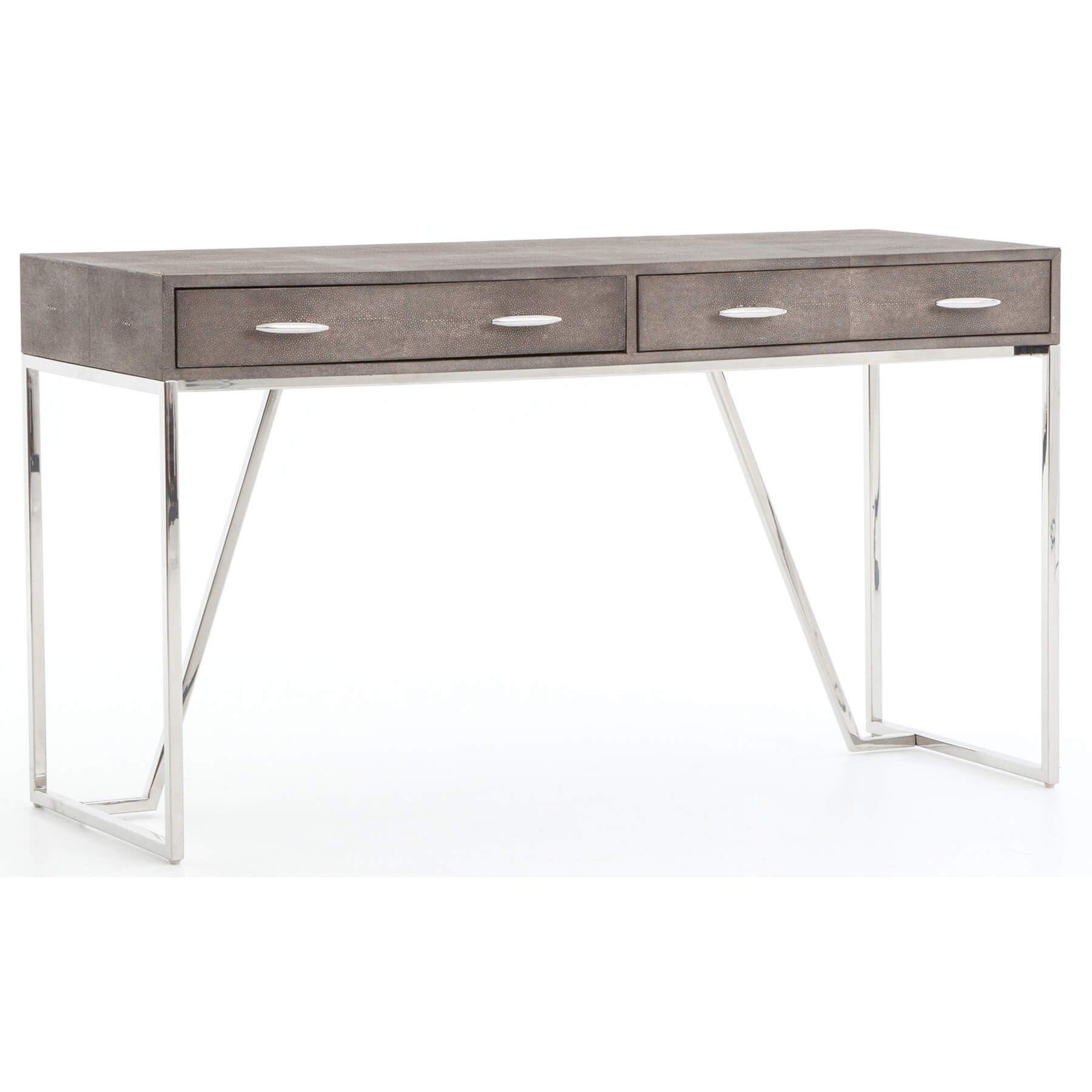 Shagreen Desk Stainless Desks Office Furniture Office