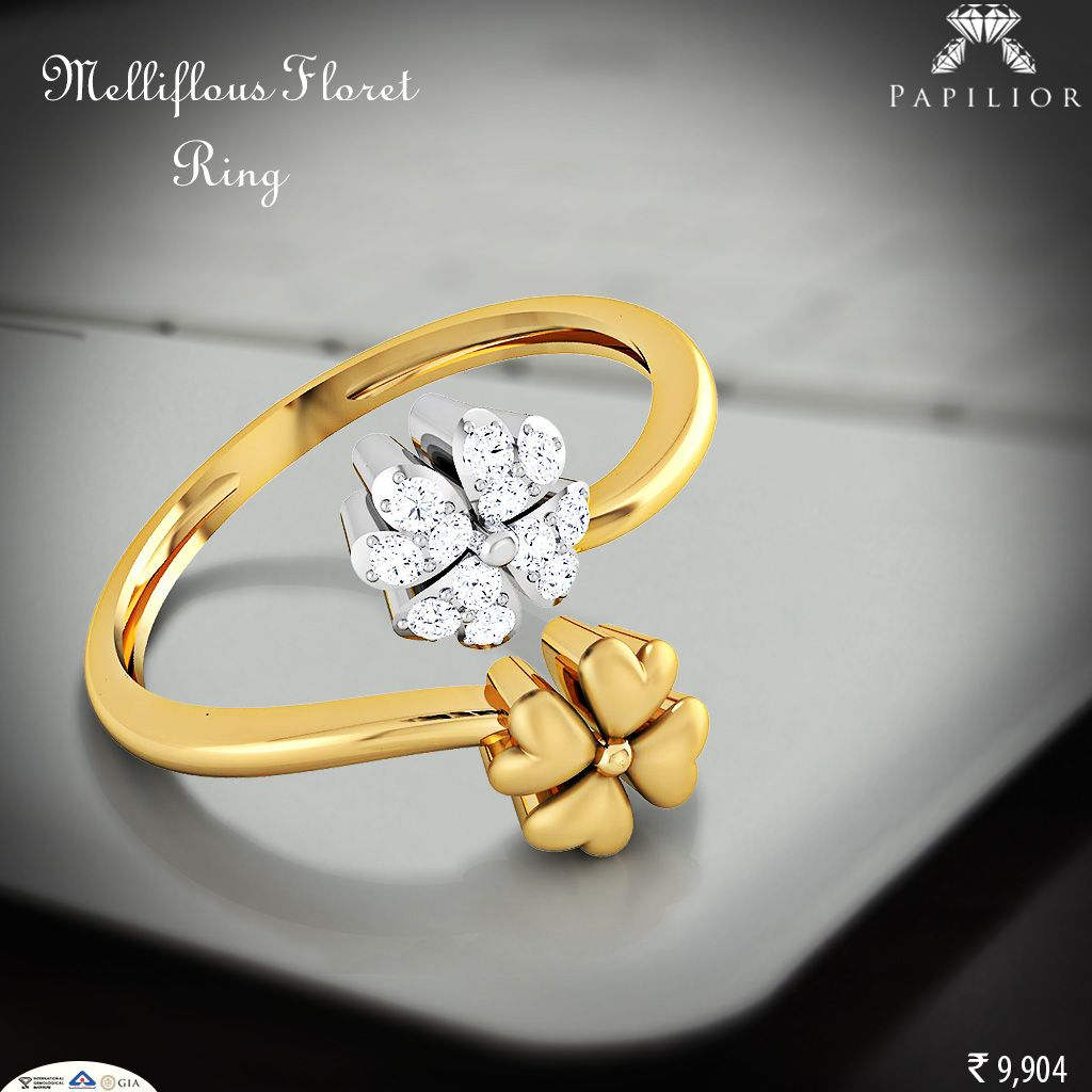 Tastes and preferences from classy #gold #ring to flower style.  Buy Now : http://goo.gl/GQtx1h #diamondring #goldring #shopping  #diamondjewelry #workwearstyle #ringdesigns marryme  #ringsonline #ringonlineindia #buyringsonline #giftforher #summerstyle #exquisite #woman #trends #shopping #perfect