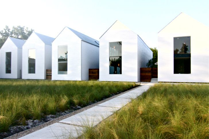 houston row houses are an exercise in daylighting simple sustainable design - Home Design Houston