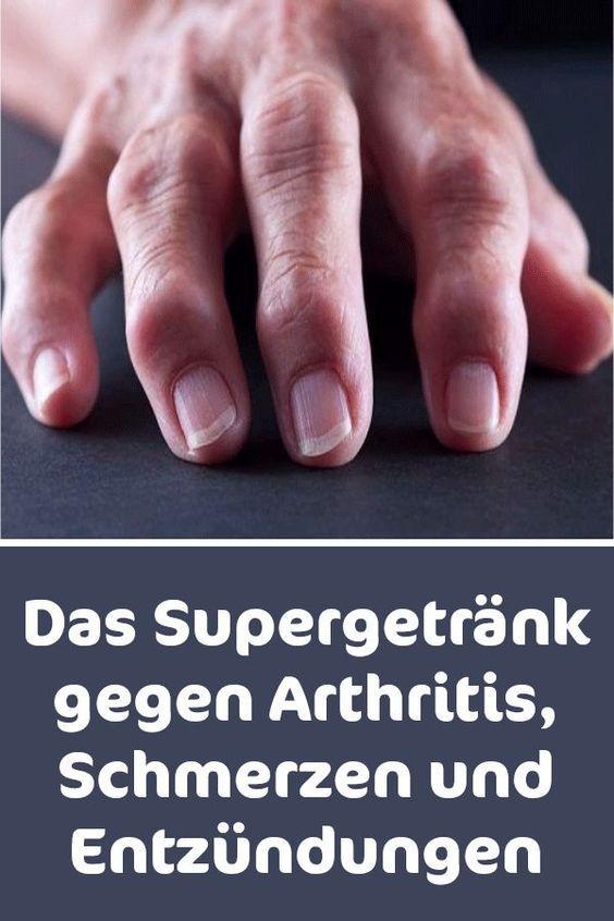 Das Supergetränk gegen Arthritis Schmerzen und Entzündungen #Supergetränk #Arthritis #Entzündungen #fitnesshealth