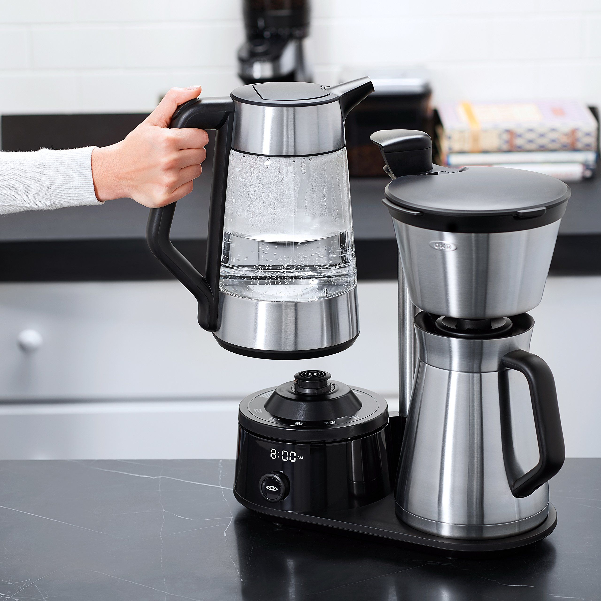 Oxo On Barista Brain 12 Cup Coffee Maker With Removable