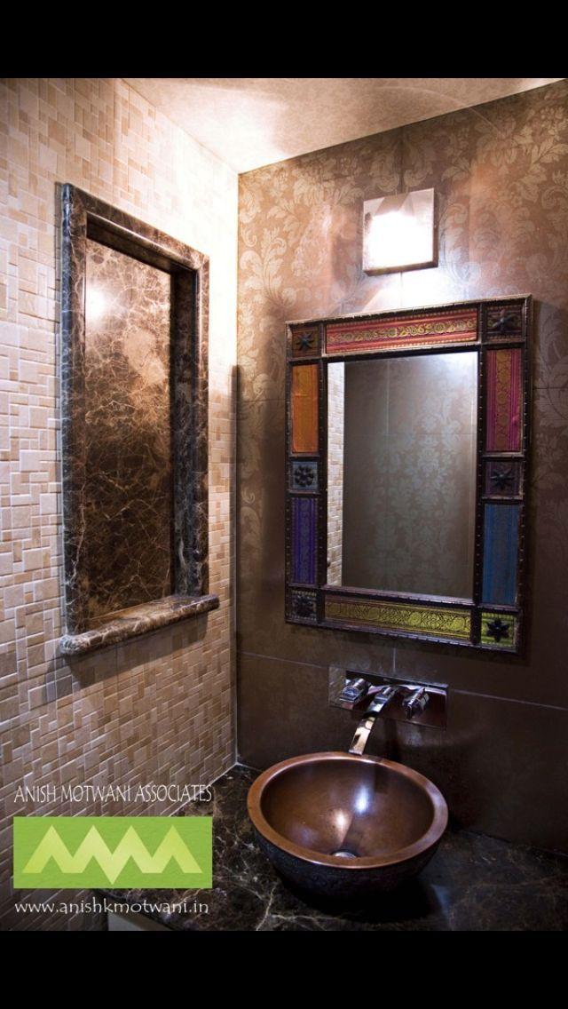 Wash Basin Design By Anish Motwani Wall Tiles Design Wash Basin Modern Bathroom Design