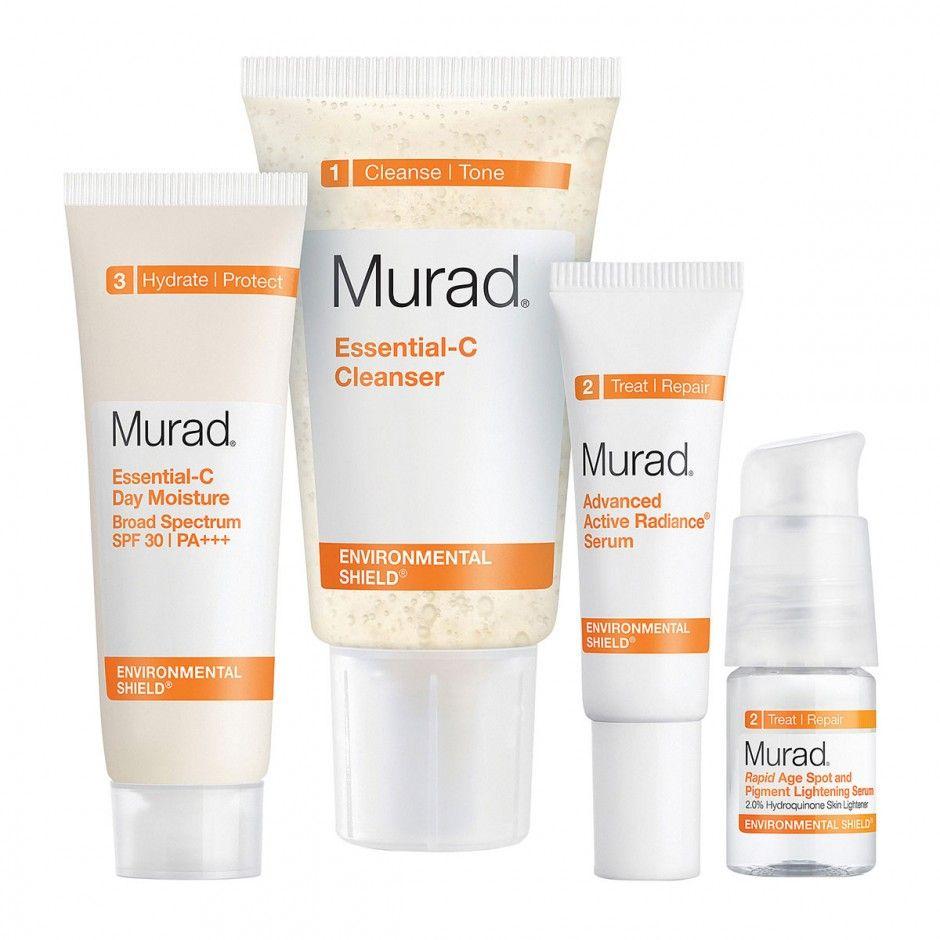 E! TV Host Catt Sadler Shares Her Nighttime Beauty Routine: Murad Radiant Skin Renewal Kit. | Coveteur.com
