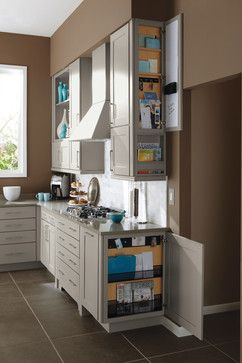 Kemper Wall Base Message Centers Kitchen Cabinetry
