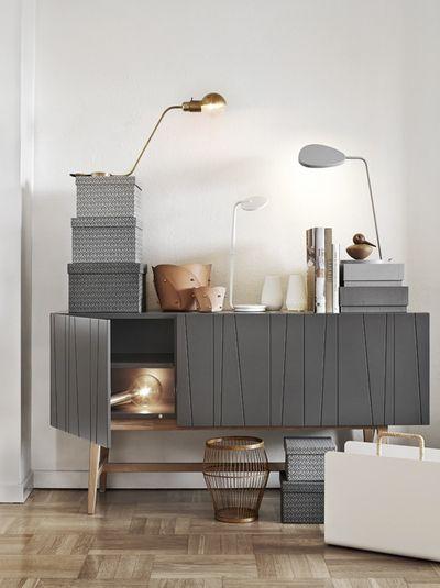pretty inspiration modern credenza. Modern sideboard  Grey tone interiordesign casegoods entrywayideas room inspiration modern Beautiful Buffets and Sideboards interiors Interiors