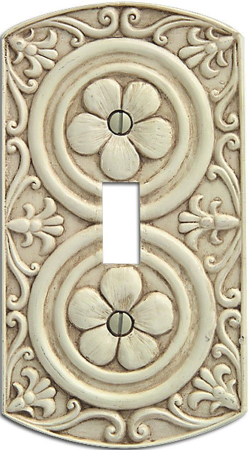 Canterbury Switchplate Cover Toggle
