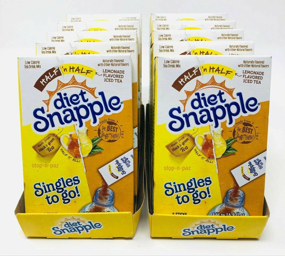 diet snapple singles to go gluten free