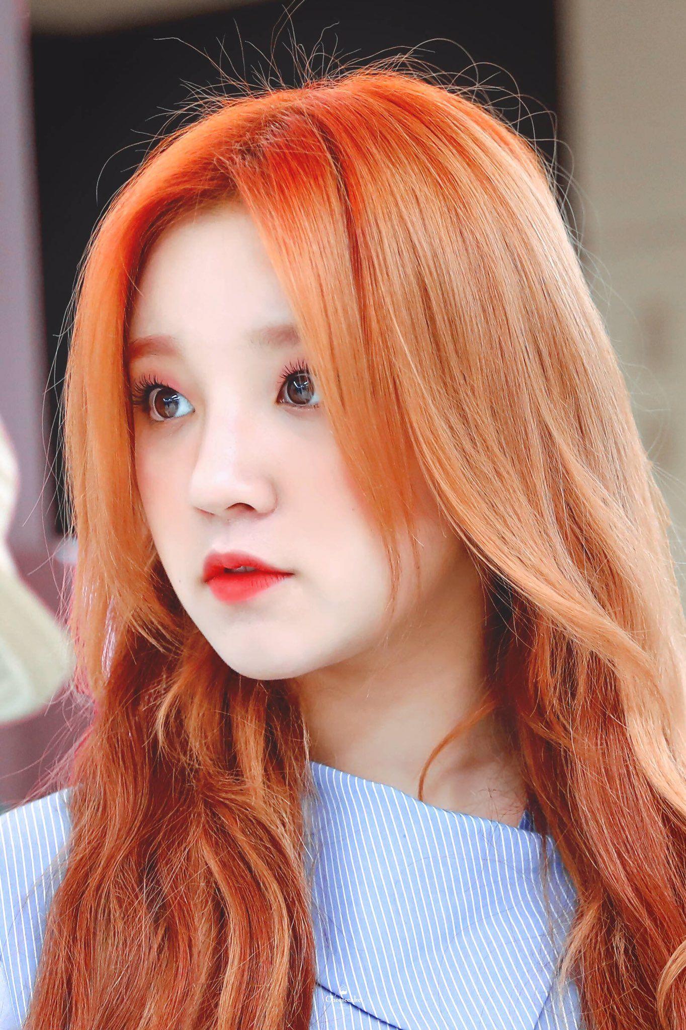 Yuqi Kpop Kdrama Bts Exo Kpoparmy Kpop Hair Color Kpop Hair Hairstyle
