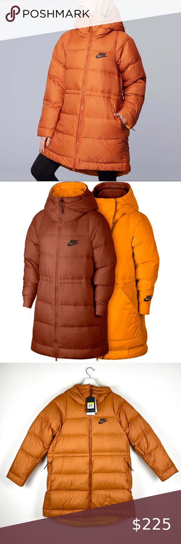 Nike Reversible Down Fill Puffer Jacket Fashion Clothes Design Plus Fashion [ 1740 x 580 Pixel ]