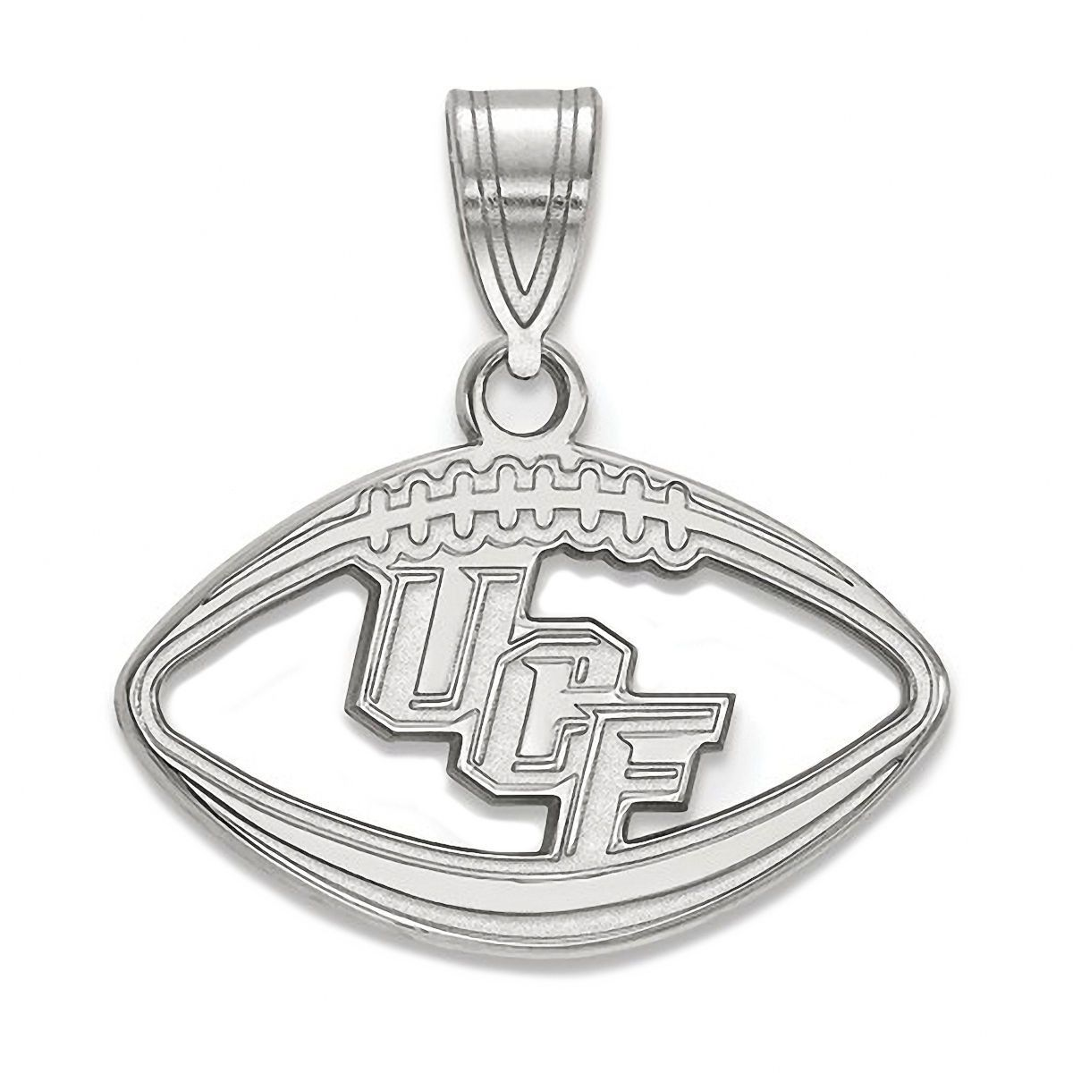 925 Sterling Silver Officially Licensed Penn State University College Pendant in Football