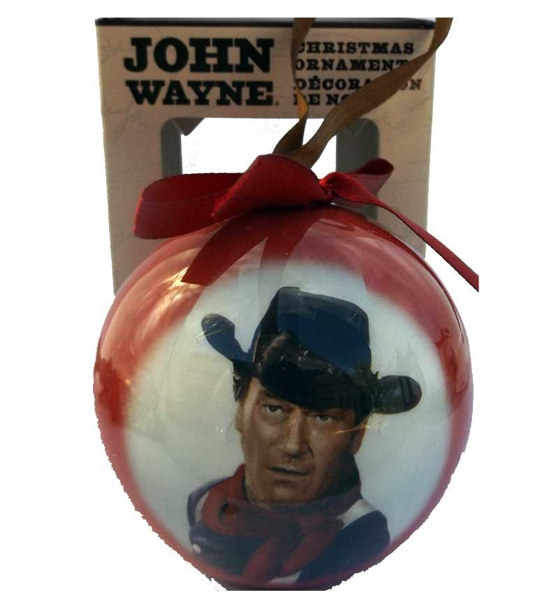 John Wayne Ball Ornament -close up | Christmas | Pinterest | Ornament