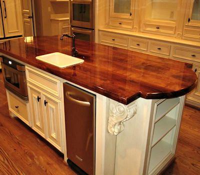 Gorgeous Countertop Beautiful Piece Of Wood Mesquite Countertops