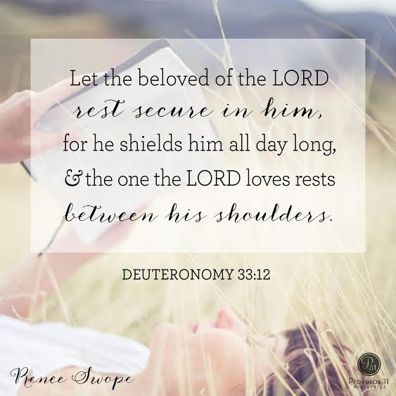 Image result for deuteronomy 33 12