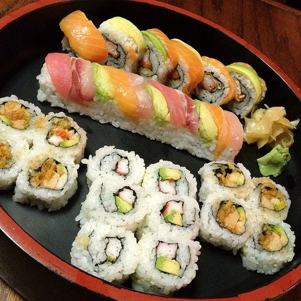 Sushi Platter From Inakaya In Columbia Sc Restaurant Reservations Fine Dining