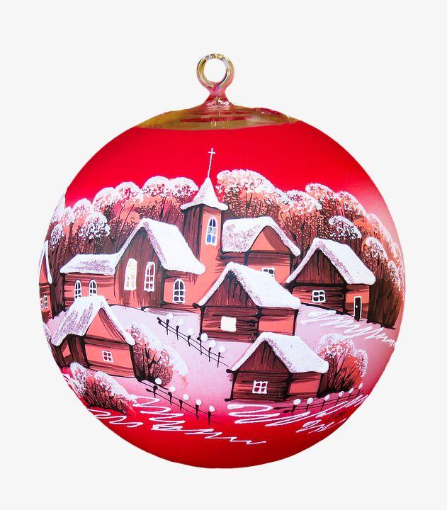 Christmas Ornament Balls Decoration Ornaments PNG Image
