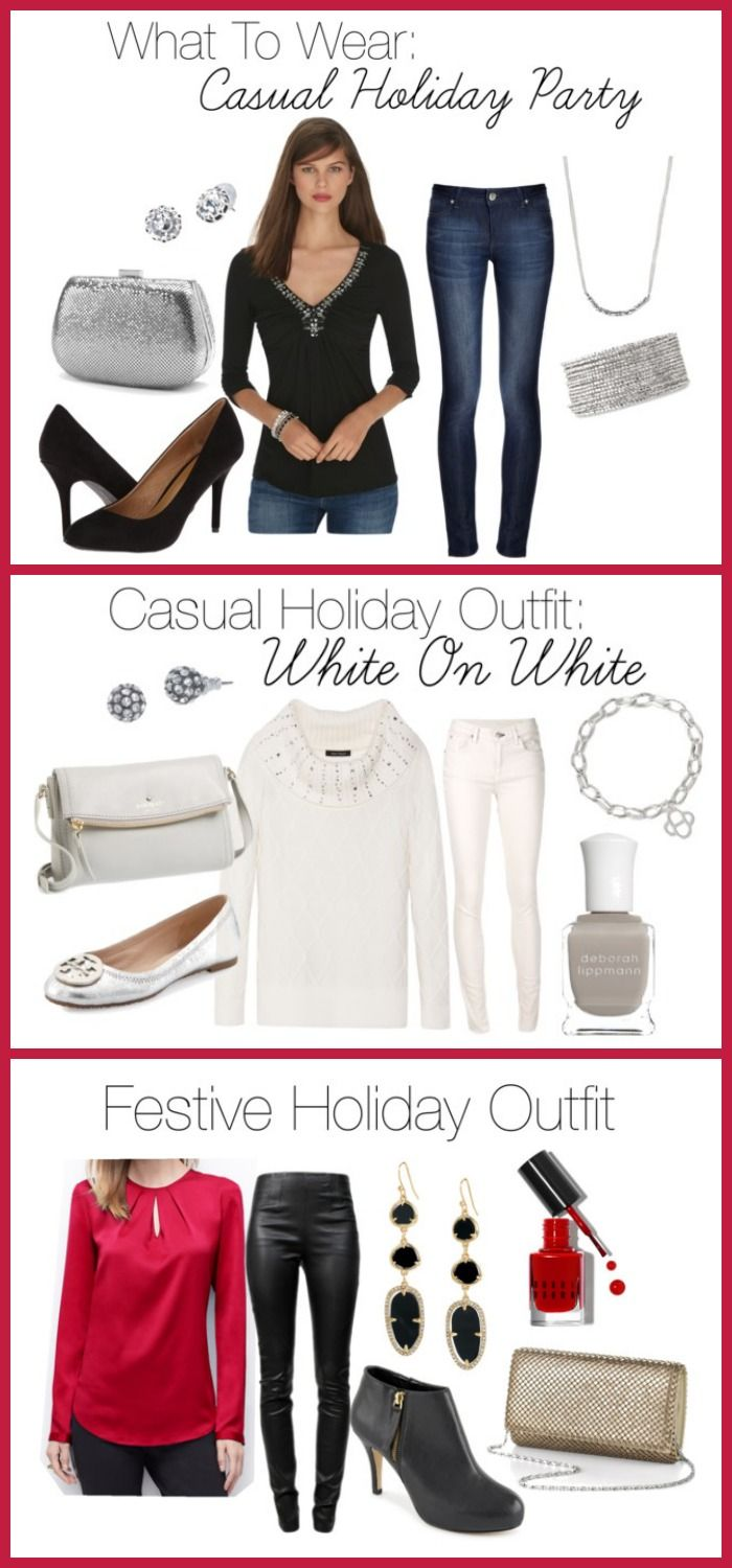 b646d5b41379a What to Wear to a Casual Holiday Party at Home | Fall Fashion and ...
