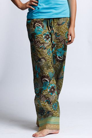 punjammies - made by women in India rescued from forced prostitution seeking to rebuild their lives. Proceeds from the sales of PUNJAMMIES™ provide fair-trade wages, savings accounts, and holistic recovery care. $35