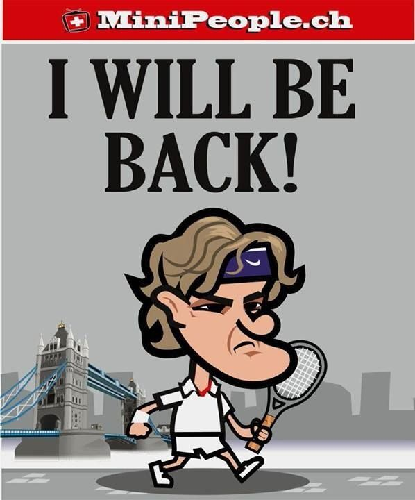 Wimbledon 2014 Roger Federer