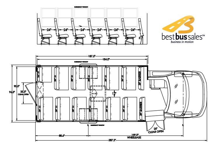 School Bus Interior Dimensions Inside Streamlined 1 On Inspiration