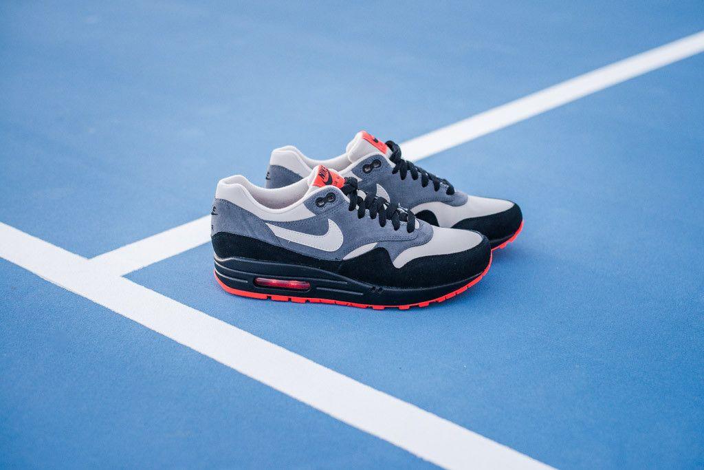new products ad34d adb39 Nike Air Max 1 LTR – Granite   Granite-Dark Grey-Black   Air 23