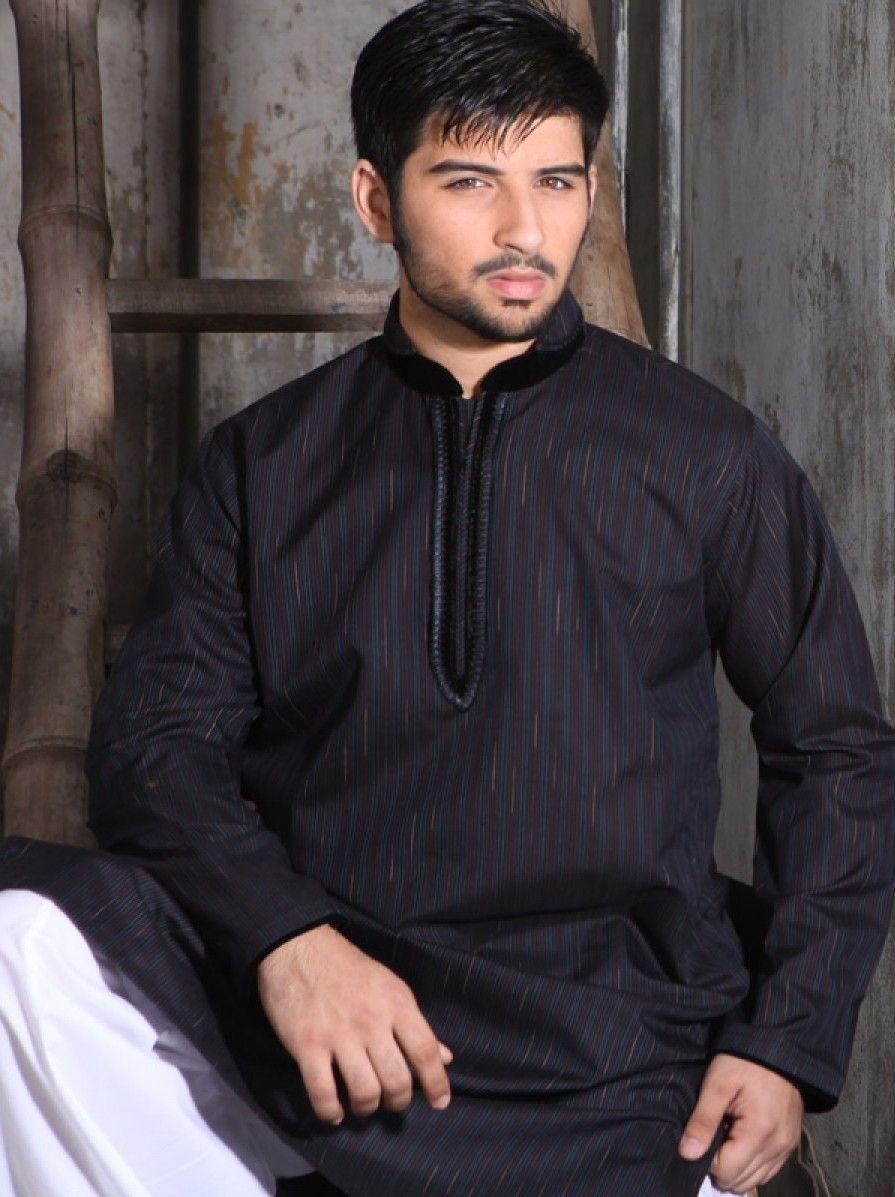 Pakistani Designers Stylish Kurta Designs 2016 For Men