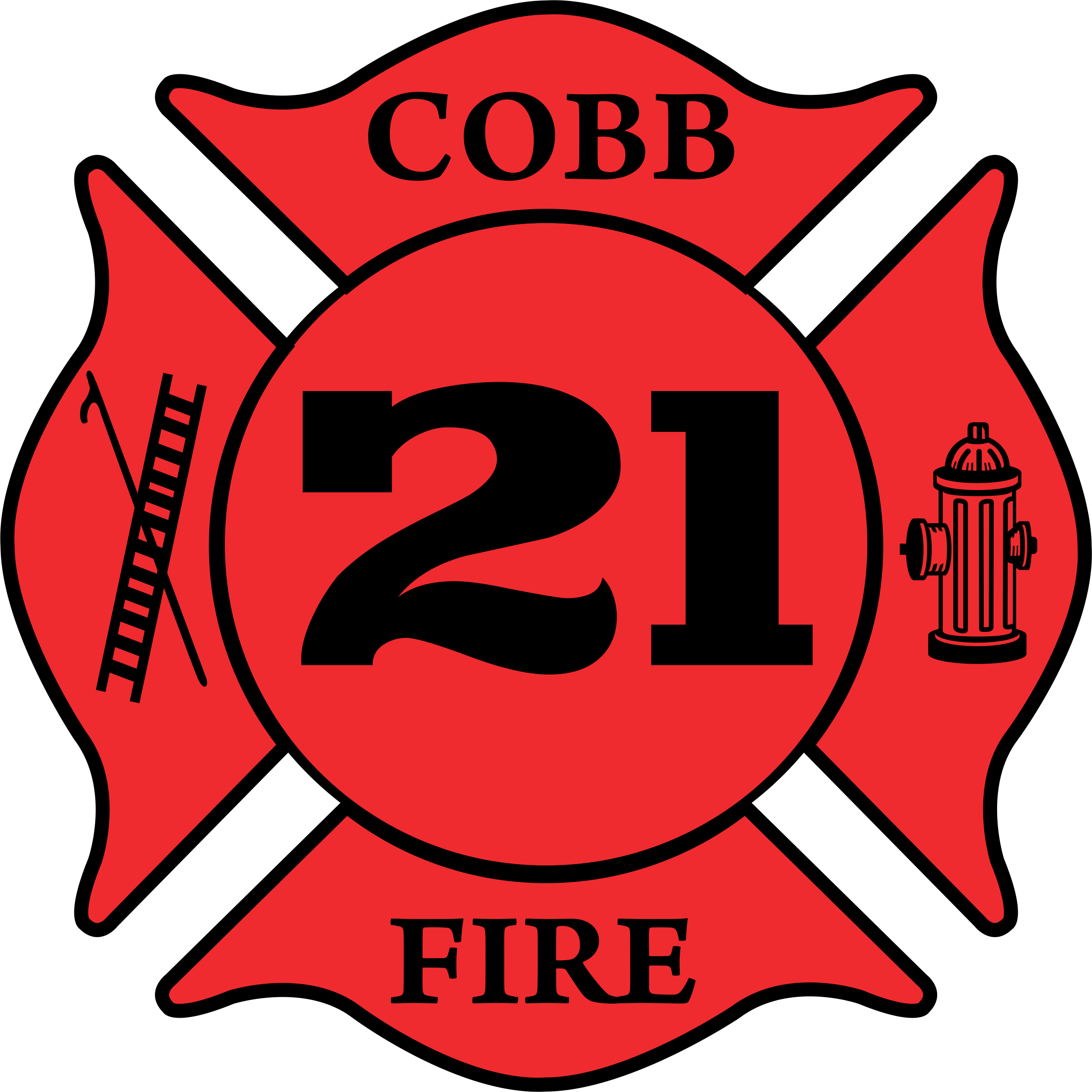 Cobb County Station 21 Stickers By Thelosthosecompany Design By Humans Cobb County Firefighter Stickers Cobb