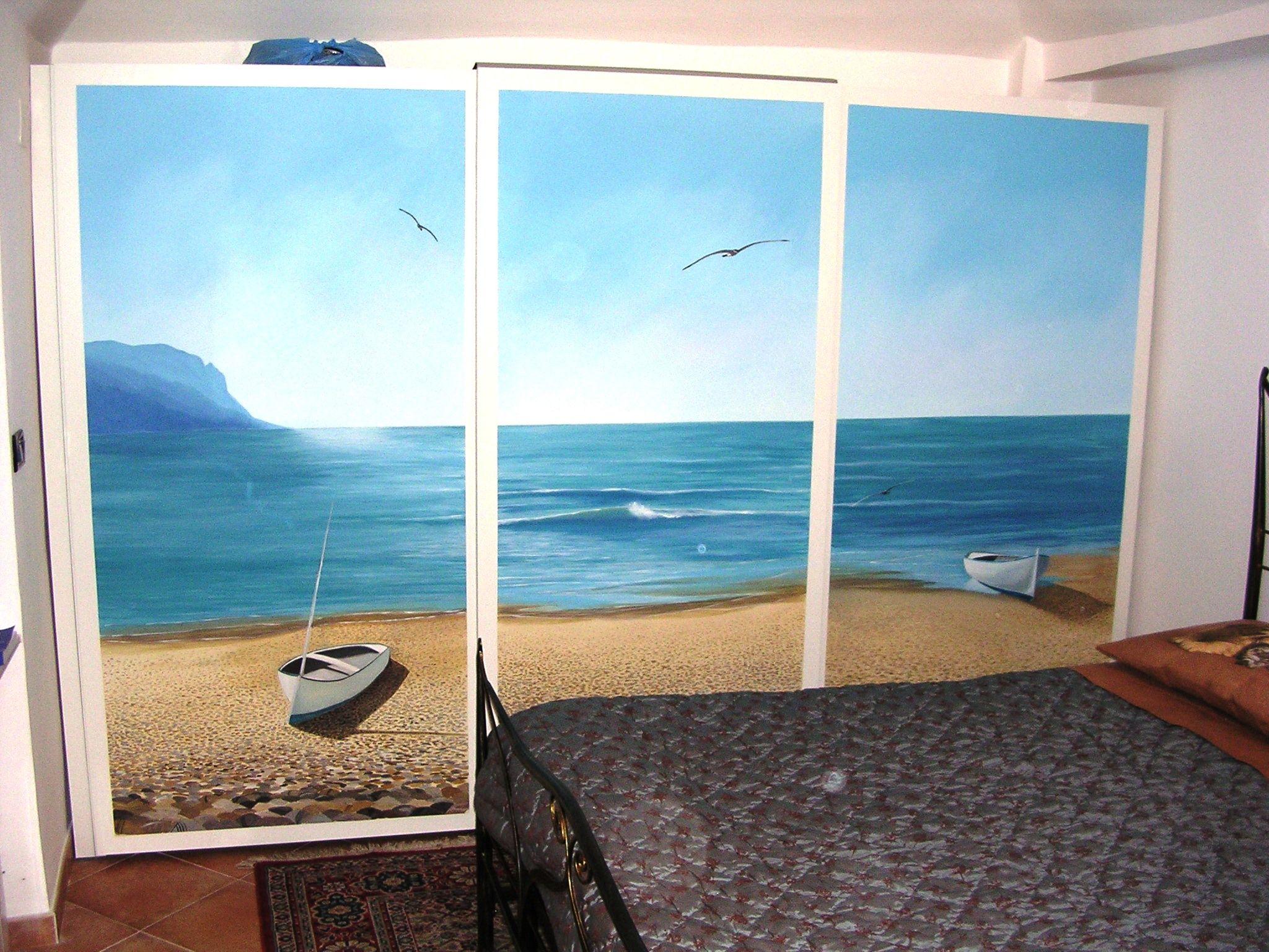 Dipinto su ante scorrevoli armadio | Kids room, Art, Room