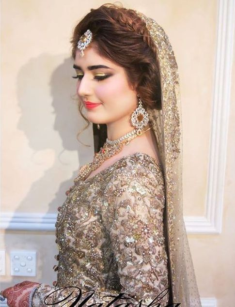 New Stylish Hairstyle Bridal Jora Dresses Pakistani
