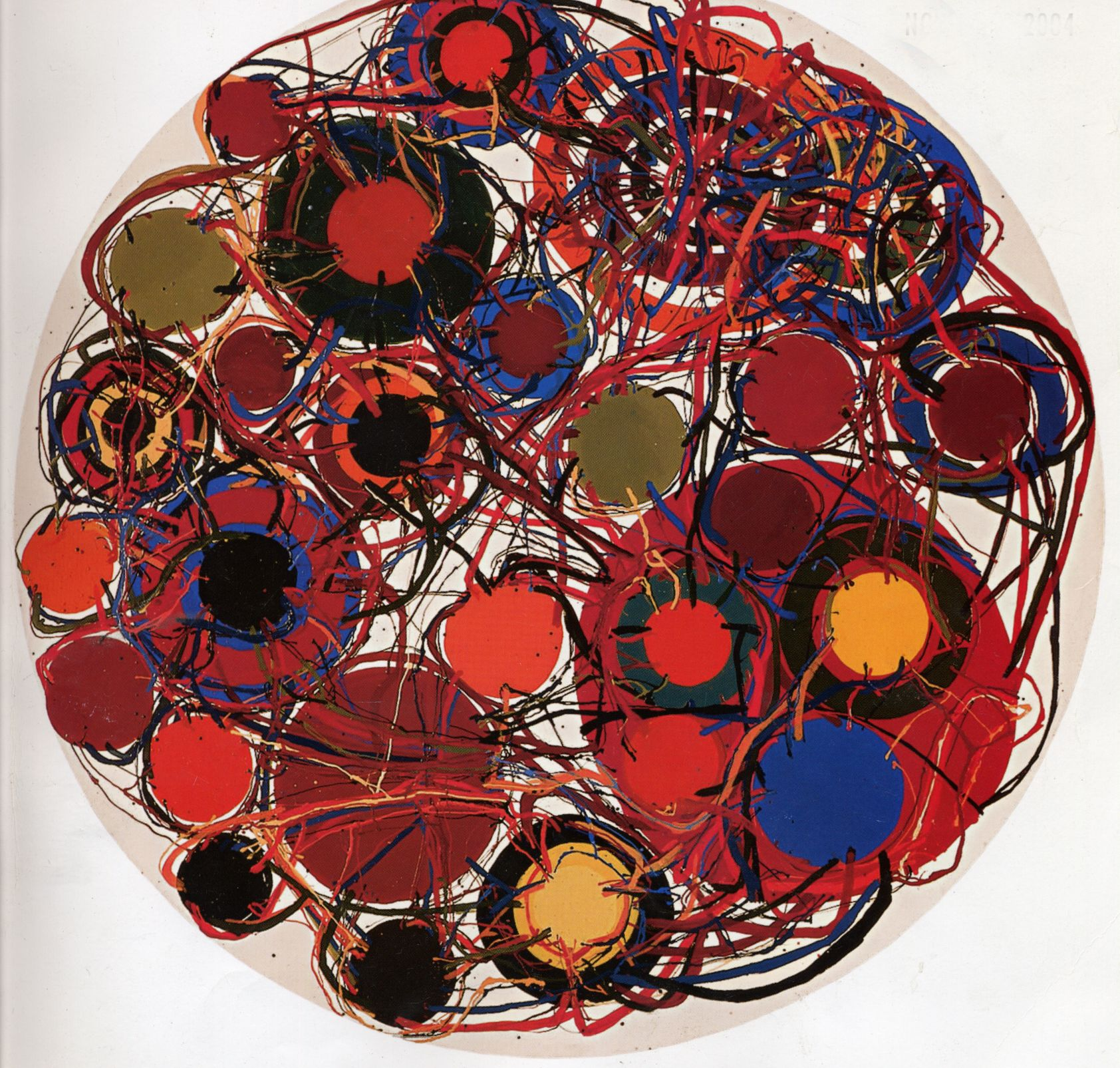 Atsuko Tanaka Diagrams Into The Diagram Art Event Classical Art Paintings Abstract Expressionist Painting