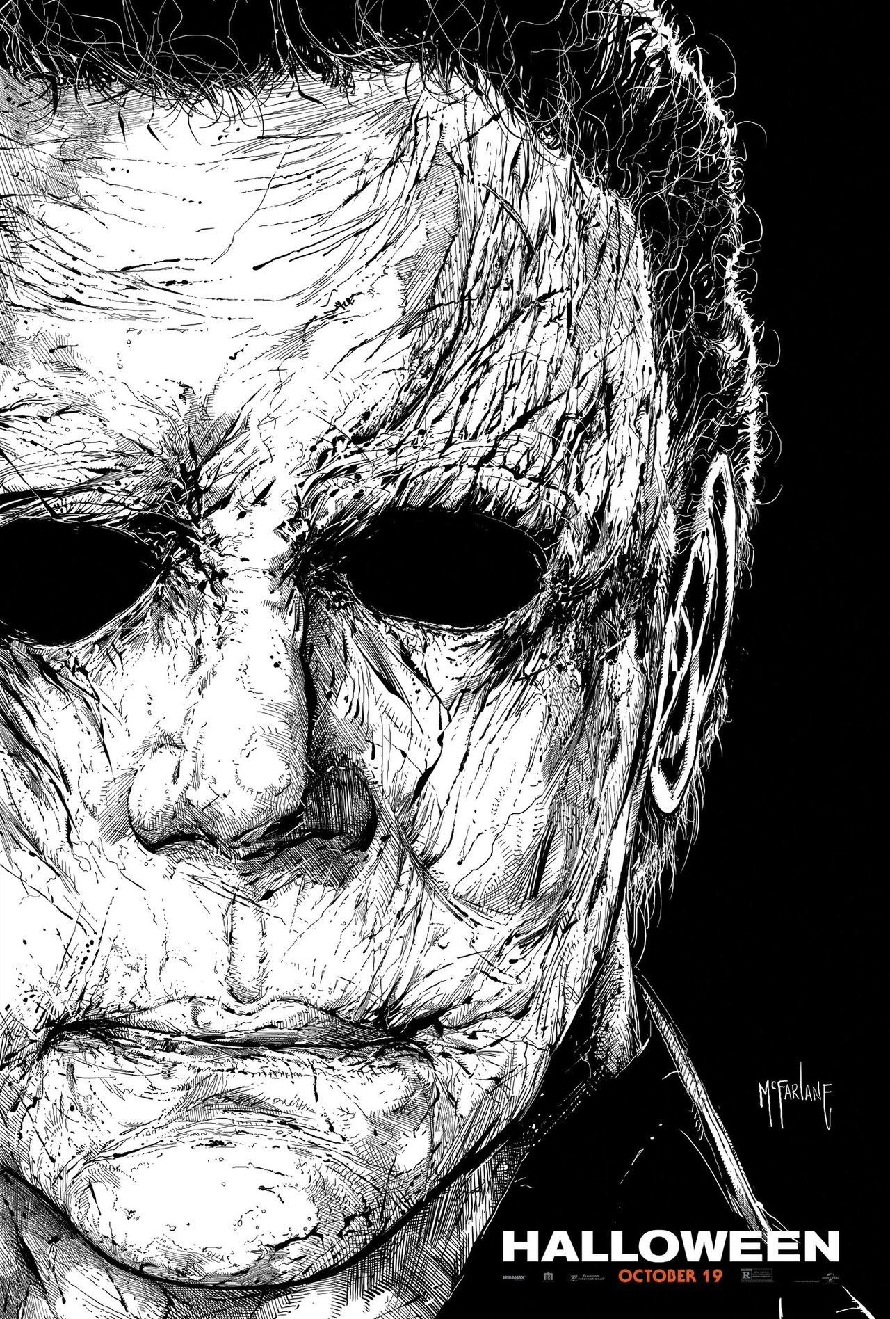 "Horror Movie Poster Art ""Halloween 2018"" by Todd"