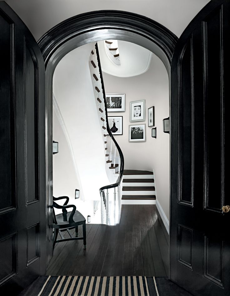Try Multiple Paint Sheens In One Room Like High Gloss Doors And Trim In A Graphic Shade To