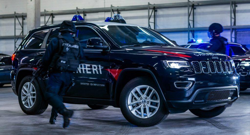 Jeep Grand Cherokees Join The Italian Carabinieri Motor Pool
