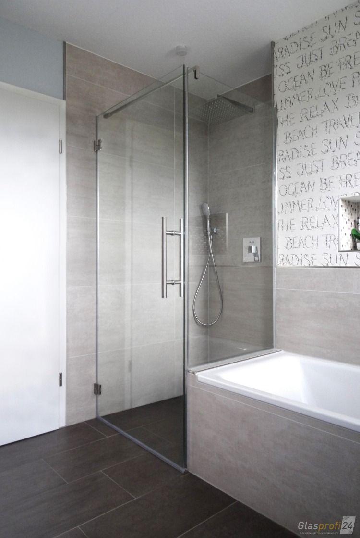 Photo of Modernes Bad #badkamerinspiratie Moderne Dusche im neuen Bad #badrenovieren #dus …