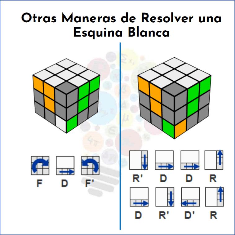 Cómo Resolver Un Cubo Rubik Mates Fáciles Cubo Rubik Resolver Cubo De Rubik Armar Cubo Rubik