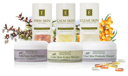 Eminence Organics is a handmade skincare line is based out of Hungary and is devoted to providing quality, purely organic products. Here at ABU, we trust Eminence products and use them on our clients for facials.  Their new VitaSkin line includes cleansers, moisturizers, masques, and vitamins that are designed to assist with calming redness, fighting acne, and anti-agin...